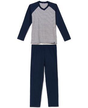 Pijama-Masculino-Toque-Algodao-Manga-Raglan-Listras