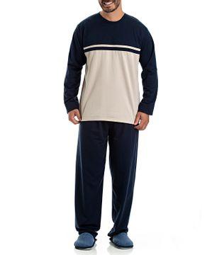 Pijama-Masculino-Toque-Flanelado-Recorte