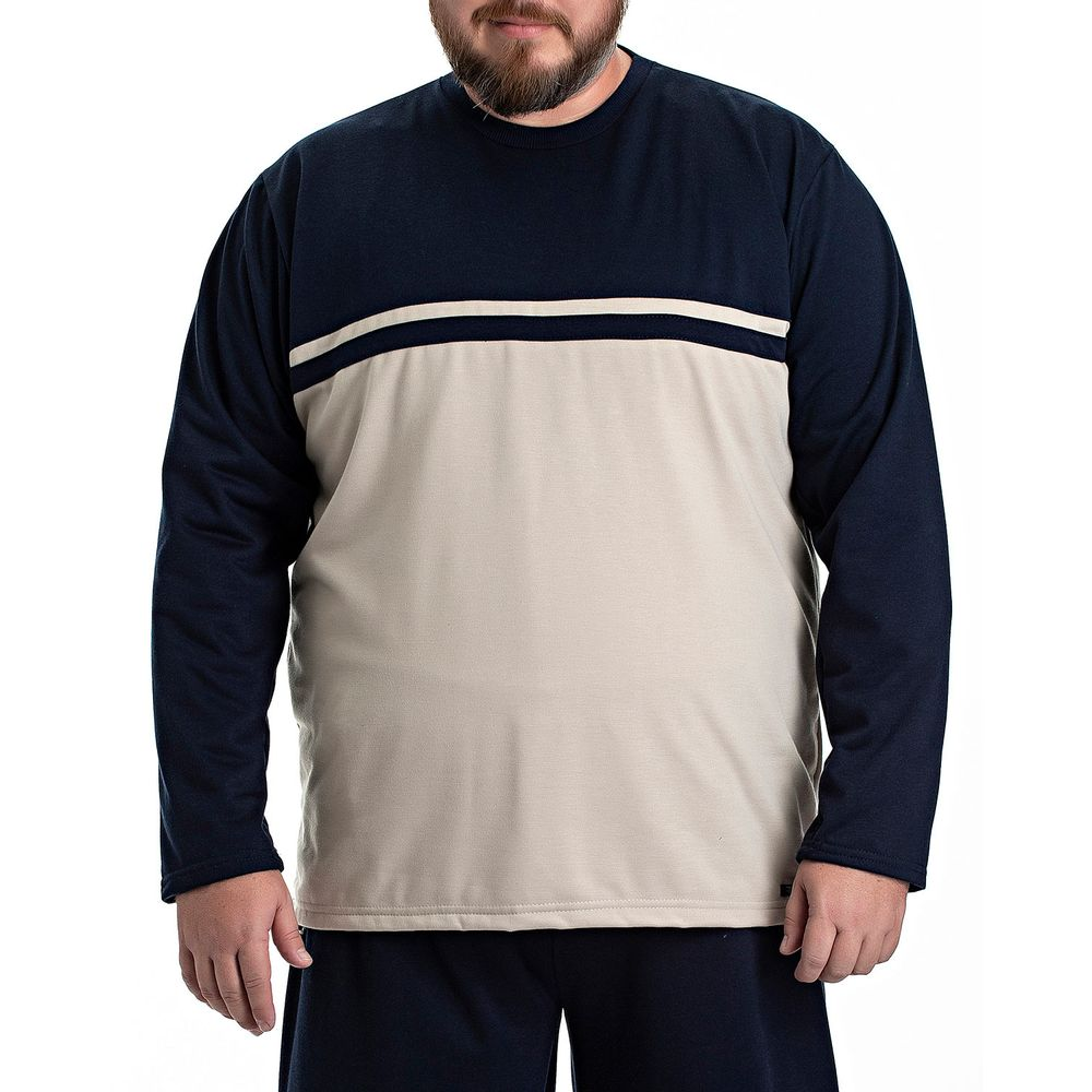 Pijama-Plus-Size-Masculino-Toque-Flanelado