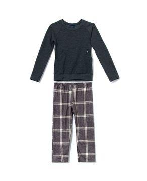 Pijama-Infantil-Masculino-Toque-Flanelado-Xadrez