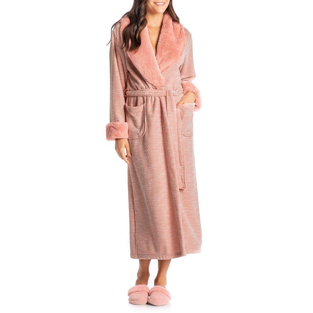 Robe-Feminino-Daniela-Tombini-Longo-Fleece-Pelos