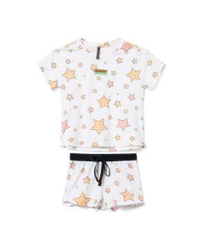 Pijama-Infantil-Feminino-Lua-Lua-Malha-Touch-Estrelas