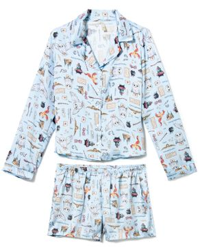 Pijama-Americano-Short-Cetim-Acuo-Harry-Potter