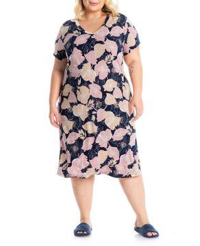 Camisao-Plus-Size-Daniela-Tombini-Viscolycra-Floral