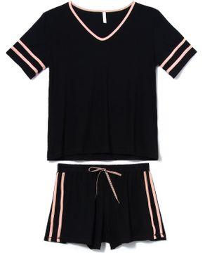 Pijama-Curto-Feminino-Joge-Viscolycra-Faixas