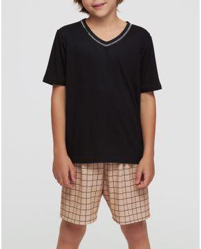 Pijama-Infantil-Masculino-Recco-Visco-Stretch-Xadrez