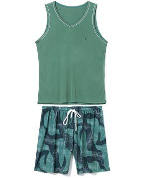Pijama-Masculino-Regata-Recco-Microfibra-Tropical