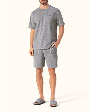 Pijama-Curto-Masculino-Lua-Encantada-Malha-Mescla