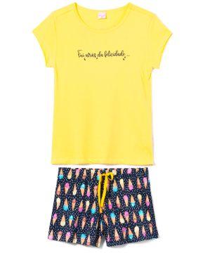 Pijama-Curto-Feminino-Lua-Encantada-Algodao-Sorvete