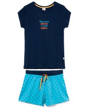 Pijama-Feminino-Curto-Lua-Encantada-Algodao-Familia