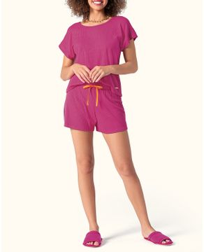 Pijama-Feminino-Curto-Lua-Encantada-Canelada