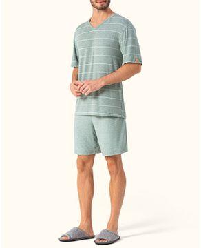 Pijama-Masculino-Curto-Lua-Encantada-Viscolycra-Listras