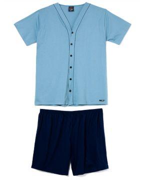 Pijama-Plus-Size-Masculino-Aberto-Toque-Algodao