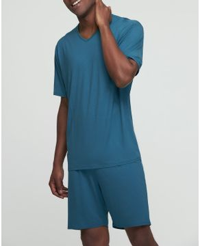 Pijama-Masculino-Curto-Recco-Micro-Modal