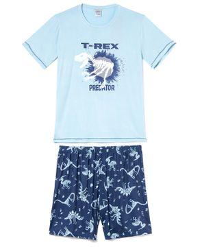 Pijama-Masculino-Curto-Toque-Viscolycra-Dinossauro