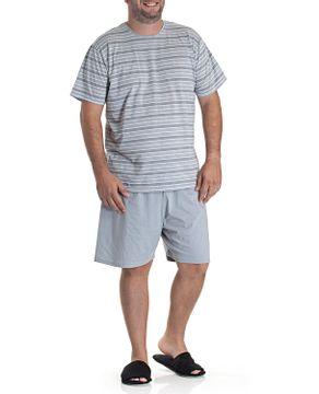 Pijama-Masculino-Plus-Size-Toque-Algodao-Listras