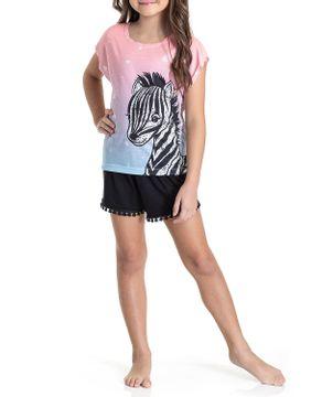 Pijama-Infantil-Feminino-Toque-Viscolycra-Zebra