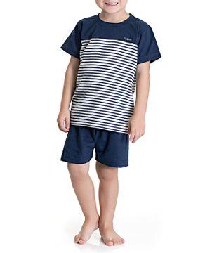 Pijama-Infantil-Masculino-Toque-Algodao-Listras